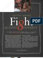 Getting Serious in the Fight Against Poverty