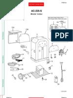 AC-225 Welder Parts List