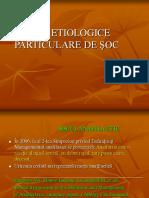 Forme etiol. partic. de soc