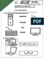 EV mensual 1º COMPUTACION - II BIM 2019