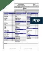 For.ssoma-fr-004 Check List Pre Uso