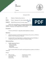 Jefferson County Board of Legislators Health and Human Services Committee Feb. 25, 2020