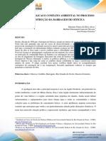 Políticas públicas e conflito ambiental no processo de construção da barragem de Oiticica