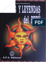 Mitos y leyendas del Perú - César Toro Montalvo