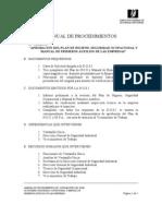 Manual de Procedimientos - Plan de Higiene