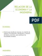relacion de economia e ingenieria