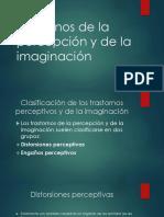 Trastornos de la Percepción e imaginación