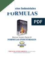 Formulas para productos industriales