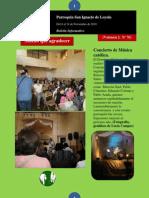 Boletín N° 76, del 8 al 14 de Noviembre de 2010