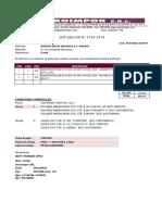 COTIZACION N° 3703-2019 EMPRESA METAL MECANICA SA
