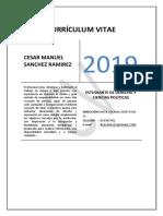 CV CESAR MANUEL