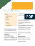 Mecanismos de la Herencia Mendeliana - Español