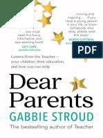 Dear Parents Chapter Sampler