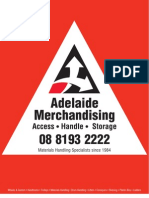 Adelaide Merchandising Catalogue