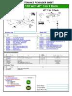 L100 John Deere Deck