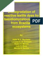 Biodegradation of Texile Azo Dyes - Fungi