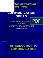 Communication Skills.b-19 29.11.04