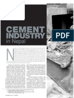 Cement Industry in Nepal