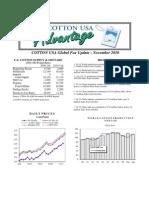 COTTON USA Global Fax Update - November 2010