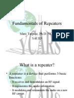 Fundamentals of Repeaters