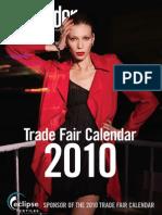 Trade Fair Calendar 2010