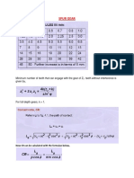 Tables Graph and formulae for exam