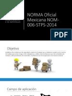 NORMA Oficial Mexicana NOM-006-STPS-2014 (1)