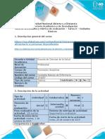Guía de actividades y rúbrica de evaluación - Tarea 3 - Cuidados Básicos