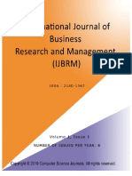 International Journal of Business Research and  Management (IJBRM)