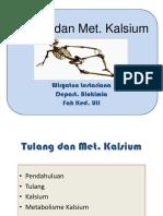 tulang dan met. kalsium