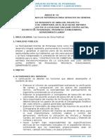 TERMINOS DE REFERENCIA SERVICIO DE CONSTRUCCION DE ESTRUCTURAS E CONCRETO