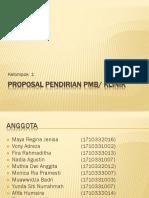 PROPOSAL PENDIRIAN PMB iya