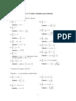 Lista 1 (versão 2) de Introdução às Equações Diferenciais Ordinárias