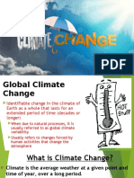 My Report..CLIMATE CHANGE