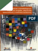 lengua de acogida, educación intercultural y contextos inclusivos