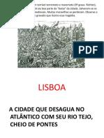 TURISMO EM LISBOA e SINTRA UMA DE SUAS FREGUESIAS