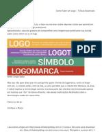 Como Fazer Um Logo - 7 Dicas Essenciais