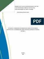 ANÁSILE DA VIABILIDADE DE PROJETOS  DE GERAÇÃO DE ENERGIA FOTOVOLTAICA CONSIDERANDO ASPECTOS DE QUALIDADE DA ENERGIA ELÉTRICA.pdf