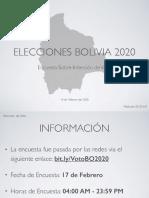 Resultados - VotoBO2020