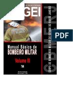 3 - MANUAL BÁSICO BOMBEIRO MILITAR DO RJ - Volume 3 Parte 1