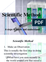 ScientificMethod day 2 - Observation, Problem and hypothesis