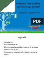 Medicion funcional de software con SCRUM