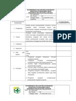 1.2.5.9 SOP Koordinasi dalam pelaksanaan kegiatan pkm baik program maupun pelayanan