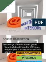 ARCHITECTURAL INTERIOR LEC1 2020 nwu