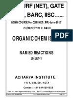 Name Reactions-I(1)