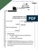 Joe Collins Lawsuit REDACTED