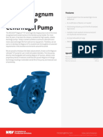 MISSION Magnum Ultimate XP Centrifugal Pump Specification