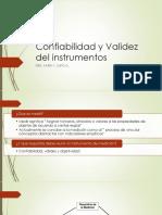 clase 6 Confiabilidad y Validez del instrumentos
