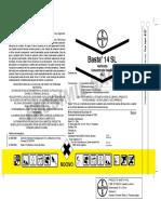 Etiqueta - Basta® 14 SL