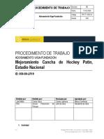 Procedimiento PR-TT-1922-01 Rev. 00